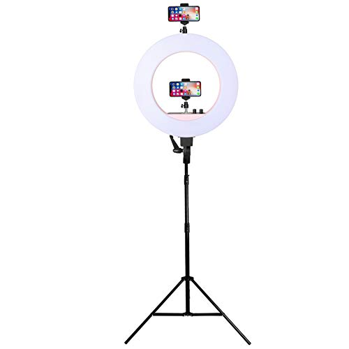 XHH-Neewer Ringleuchte Set- 90W 3200K-6500K Dimmbare LED-Ringlicht, Lampenstativ, Vine Self-Portrait Der Videoaufnahme