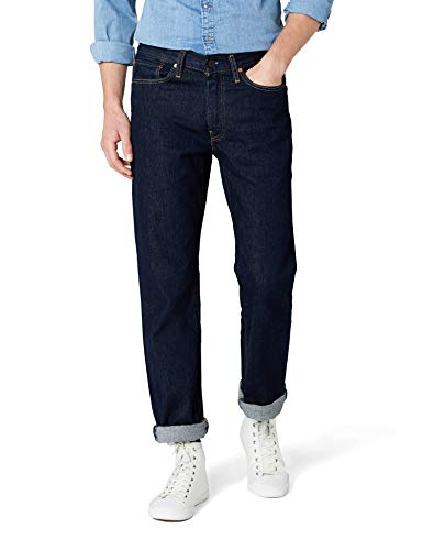 38 Levis Denim Jeans (Levi's, Herren Jeans 514 Regular Fit, Blau (Onewash), Gr. W38/L32)
