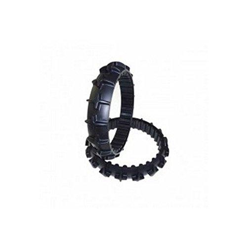 Zucchetti: Coppia Gomme di ricambio per ruote Ambrogio Robot L200