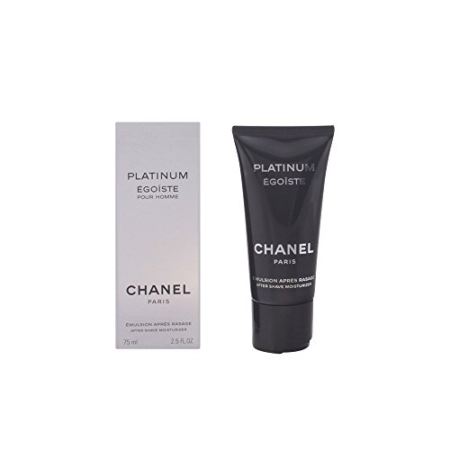 CHANEL Feuchtigkeitcreme After Shave - Platinum Egoiste Pour Homme as emulsion, 1er Pack (1 x 75 ml)
