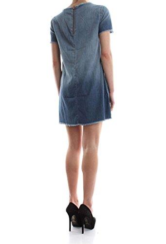 ONLY 15130181 RIUND ROBE Femme MEDIUM BLUE DENIM