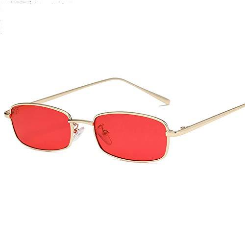 Sonnenbrillen für Männer und Frauen, Metall Rand Rahmen, Stilvolle, Uv Augenschutz, Anti-Reflexion 100%, for Damen Uv400 Reflektierenden Spiegel, A