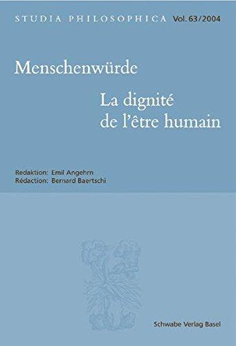 Menschenwurde - La Dignite De L'etre Humain 2004