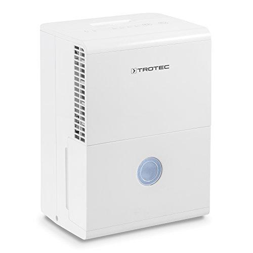 TROTEC Komfort Luftentfeuchter TTK 28 E (max.10 L/Tag), geeignet für Räume bis 37 m³ / 15 m²