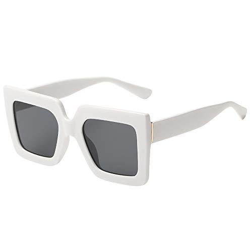 ☀ URIBAKY Polarizadas Gafas de Sol Hombre Mujer, Lente Espejo Protección UV para Viaje, Conducción, Golf, y Actividades Exteriores