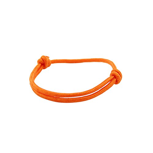 GLANZWEAR® Surferarmband Rope Männer Frauen Seilarmband Nylon Segelknoten Segeltau Surfer Armband Freundschaftsband…