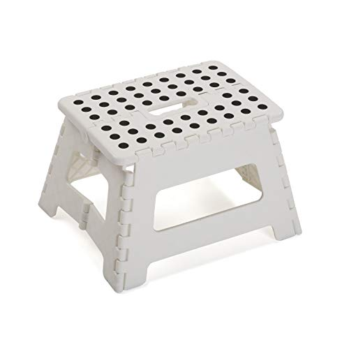 Versa 21620001 Taburete Plegable Blanco