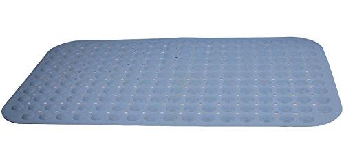 St.Oswalds Alfombra Ducha Antideslizante TPR Para Bañera Y Baño con Ventosa de Sucion Azul