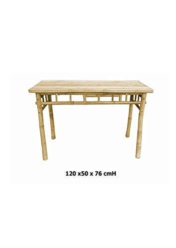 Kienlam Table Pliante en Bois, bambustisch