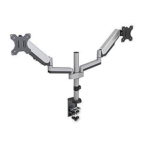 V7 DM1DTA-1E Dual-Monitorhalterung mit Touch-Anpassung für Displays bis zu 32 Zoll und 8 kg
