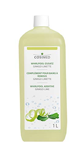 Whirlpool Badezusatz Ginkgo-Limette, Sprudelbad-Duft, Konzentrat 1L, cosiMed