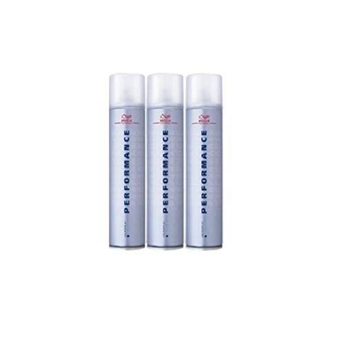Wella Performance Haarspray Ultra Strong SET 3 x 500ml