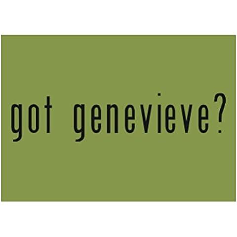 Teeburon Got Genevieve? Sticker Pacchetto di 4