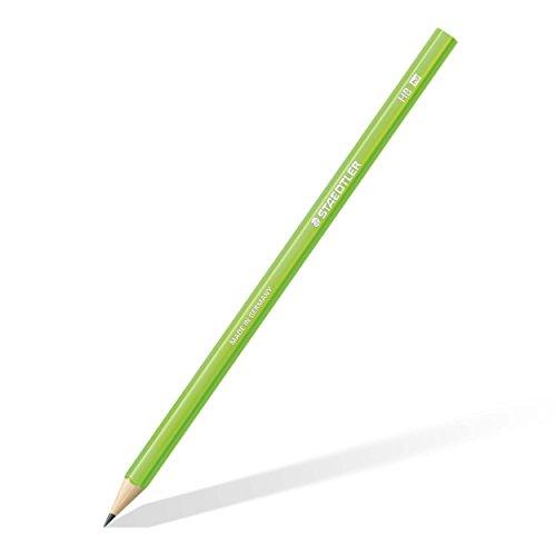 Staedtler 180 HB-F50 Bleistift Wopex HB, 12 Stück, neon grün