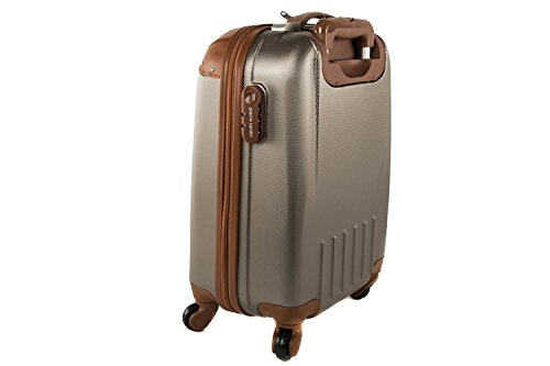 31Ucjj 97QL - Maleta rígida PIERRE CARDIN moro mini equipaje de mano ryanair