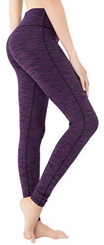 QUEENIEKE Damen Power Flex Yoga Hosen Training Laufende Leggings Farbe Violett Space Dye Größe XS(0/2) - Dye Tasche