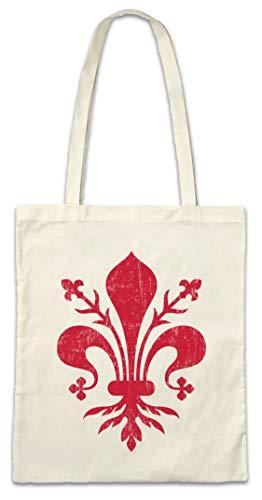 Urban Backwoods Medici Symbol Hipster Bag Beutel Stofftasche Einkaufstasche