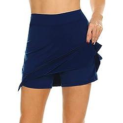 MAXMODA Jupe de Golf Mini Short pour Fille/Femme Activité Sport