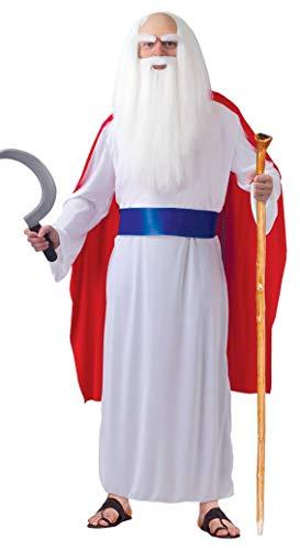 Fiestas Guirca Kostüm keltisch Druide Priester (Einfache Herren Kostüm)