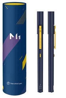 NeoLab M1 NWP-F50-NC-GL Smartpen, 100MB interner Speicher, 149,6 mm grau