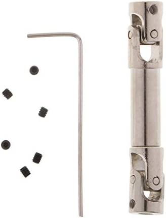 FLAMEER Cardan d'arbre de Transmission Transmission Transmission pour 1/10 RC Rock Crawler Car Axial SCX10 D90 - 33mm | Approvisionnement Suffisant  75bf00