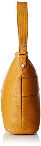 Le Tanneur - Lou, borsa a tracolla Donna Giallo (Tricolore)