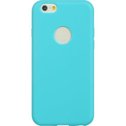 DreamWireless iPhone 6thermoplastisches Polyurethan mit Displayschutzfolie Case-Retail Verpackung-Blau