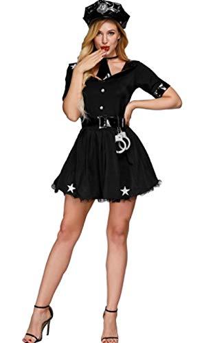 Bekleidung & Schuhe für Modepuppen Neue Damen Polizei Phantasie Halloween Kostüm Sexy Cop Outfit Frau Cosplay Sexy Erotische Dessous Polizei Kostüme für Frauen @ - Neue Sexy Kostüm