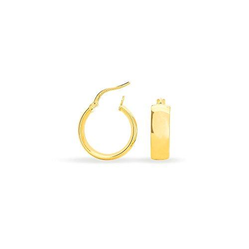 HISTOIRE D'OR - Créoles Or Jaune 6mm Diam 15mm - Femme - Or jaune 375/1000