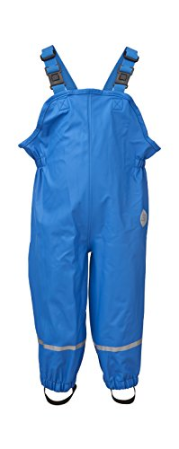 LEGO Wear Baby - Jungen Hose PAULI 201 - RAIN PANTS Regenhose Blau (566 BLUE) 74