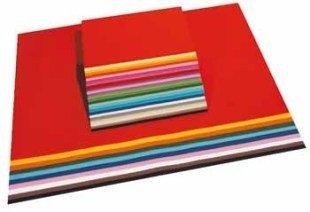 farbpapier Tonzeichenpapier Sparpack 3 130g/qm, DIN A4, 500 Bogen farbig sortiert