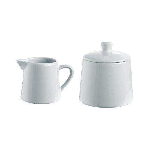 Set Milchkännchen Zuckerdose Zuckerbehälter Milchbehälter Milch und Zucker-Set 2-teilig Vanilla Season LAKADIVY
