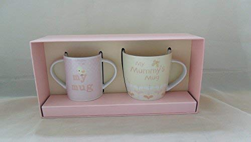 Bébé Boutique cadeaux de bébé - Maman et bébé Mug Coffret cadeau Rose - 50991 -