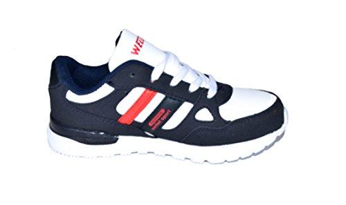 36 TMY Weiss stylische DX160 Schwarz Schwarz Kinder in Sneaker Weiss 31 GR x44zYqrw5p