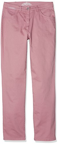Brax Raphaela by Damen Straight Jeans Corry Fame (Comfort Plus), Rot (Light 83), W42/L30 (Herstellergröße: 52K) (Five-pocket Weites Bein Jeans)