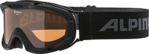 Alpina Kinder Skibrille Ruby S Rahmenfarbe: Black, One Size