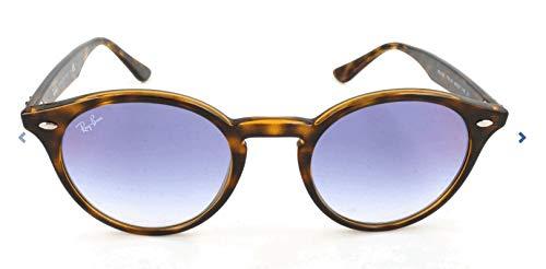 Ray-Ban Herren 0RB2180 710/X0 49 Sonnenbrille, Havana/Gradientbluemirrorred