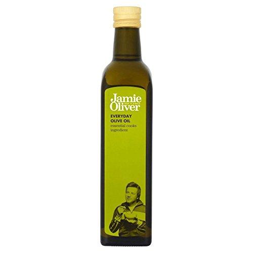Jamie Oliver Everyday Olivenöl (500 ml) - Packung mit 2