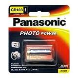 #9: Panasonic Photo Power CR123 Lithium Batteries,