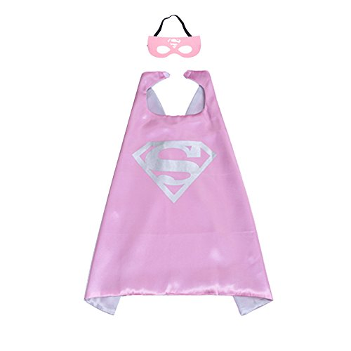 Kinder-Umhang mit Superhelden-Muster, Hammer Robin, für Jungen und Mädchen, - Mädchen Superhelden Kostüm
