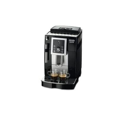 DeLonghi-ECAM-23210B-Kaffeevollautomat-Digitaldisplay-Milchaufschumdse-Kegelmahlwerk-13-Stufen-Herausnehmbare-Brhgruppe-2-Tassen-Funktion-schwarz