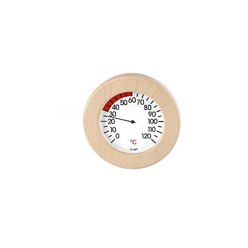 eliga Thermometer im Holzrahmen für Infrarotkabine 155 mm