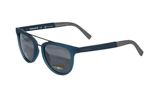 Timberland Unisex-Erwachsene Brillengestelle TB9130 91D 52, Blau (Blu Op\\Fumo Polar)