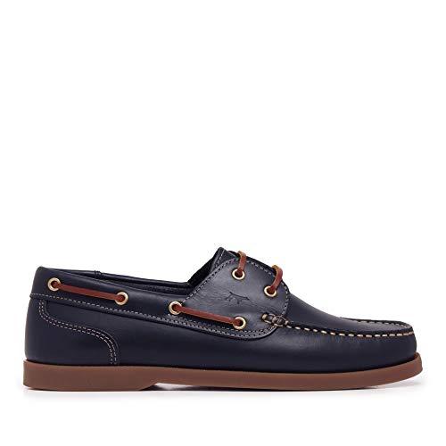 Zapatos Náuticos de Piel para Hombre - Son Castellanisimos...