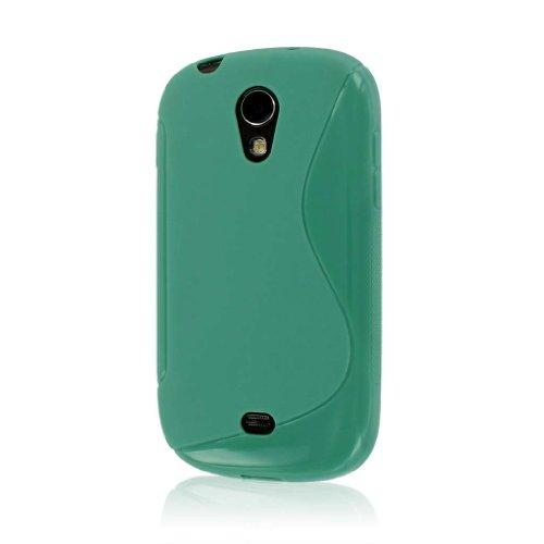 MPERO FLEX S Series Schutz Case Tasche Hülle for Samsung Galaxy Light T399 - Mint Grün (Für Samsung Cover T399)