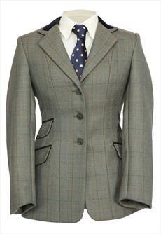 shires-huntingdon-veste-de-concours-pour-femme-motif-chevrons-vert