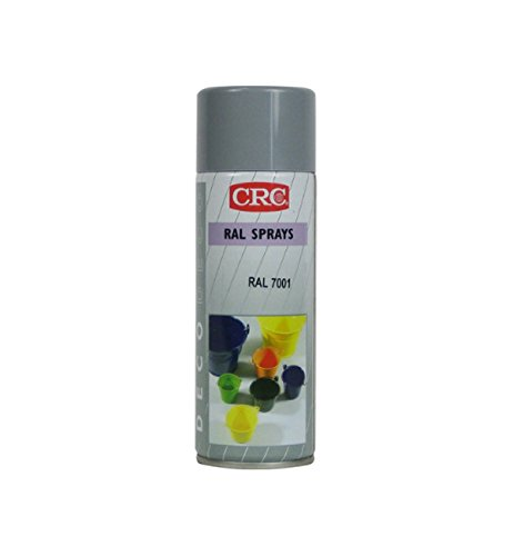 CRC Deco Spray Pintura, Gris Plata, 400 ml