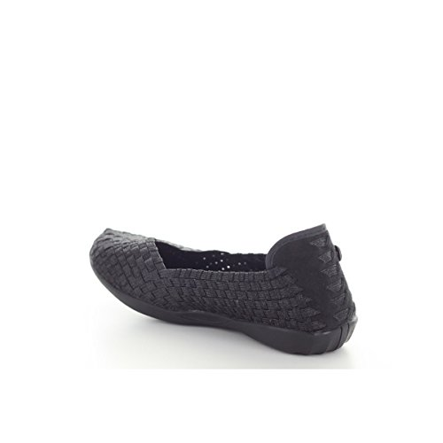 Sandales Catwalk Metallic Noir
