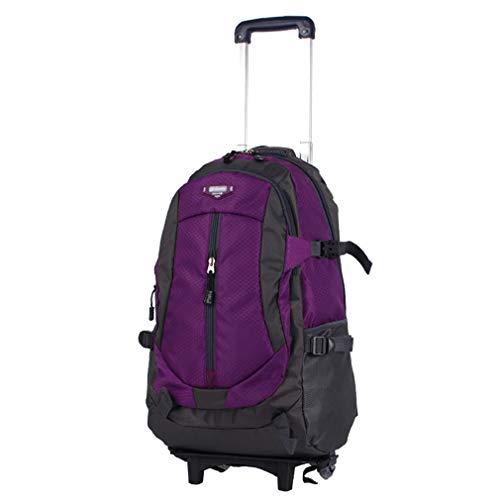 Trolley-Rucksack Outdoor-Freizeit Mehrzweck-Reiserucksack Oxford Cloth Bulk Bag Trolley-Tasche (FM),E