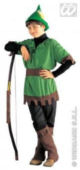 Kostüm König der Diebe - Waldjunge Jäger Größe 158 cm